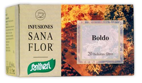 BOLDO SanaFlor, Infusión