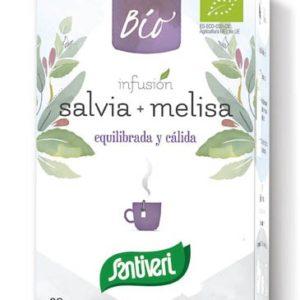 SALVIA+MELISA, Infusión bio
