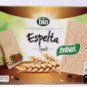 TOSTADAS LIGERAS ESPELTA, Santiveri