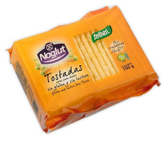 TOSTADAS LIGERAN NOGLUT, sin gluten.