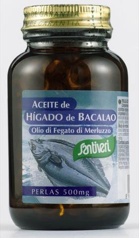 ACEITE DE HÍGADO DE BACALAO, perlas