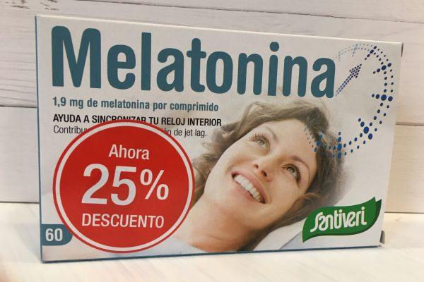 Melatonina problemas sueño