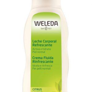 leche corporal citrus weleda